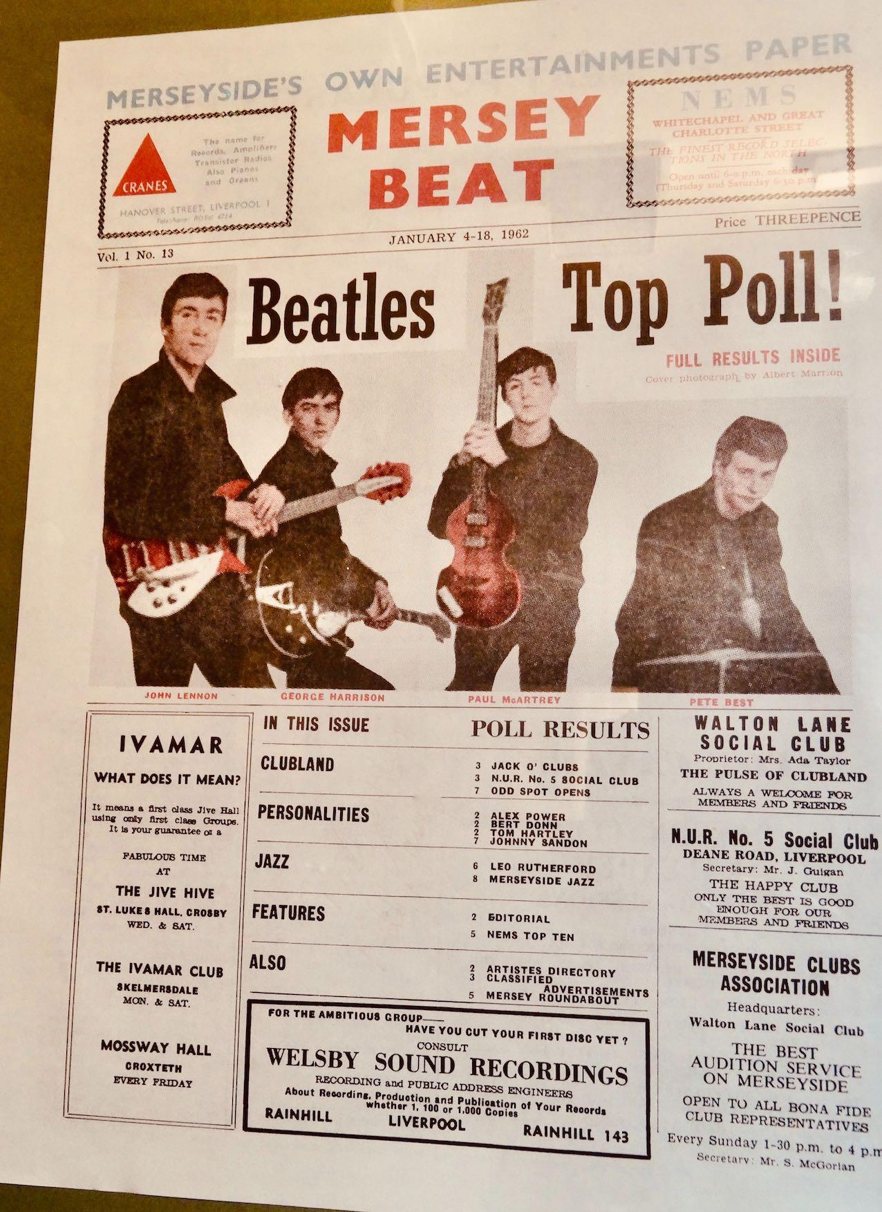 Mersey Beat Magazine The Beatles Story