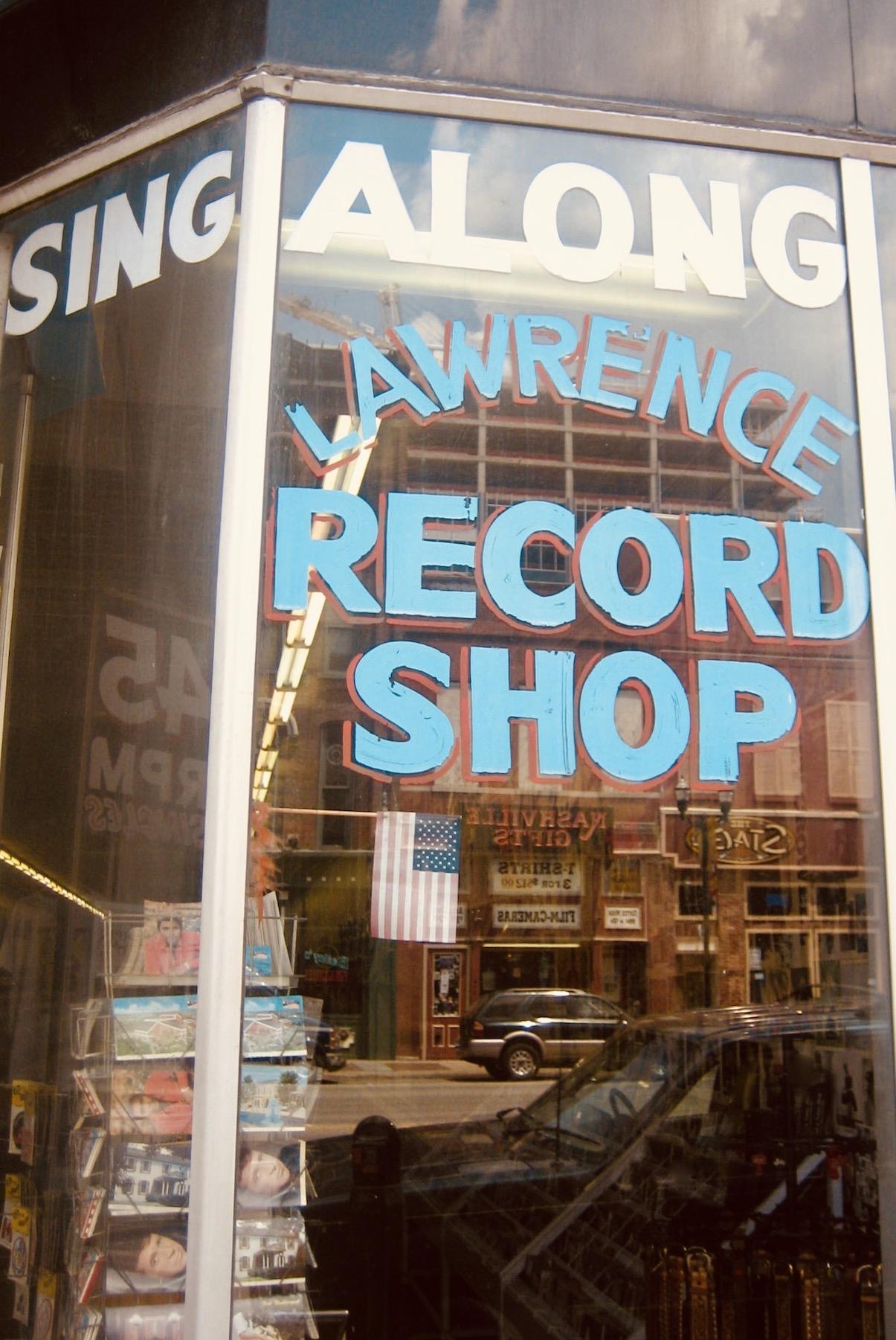 Nashville Nostalgia Lawrence Record Shop