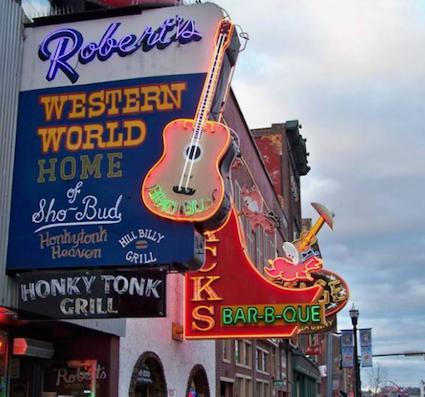 Nashville Nostalgia Robert's Western World