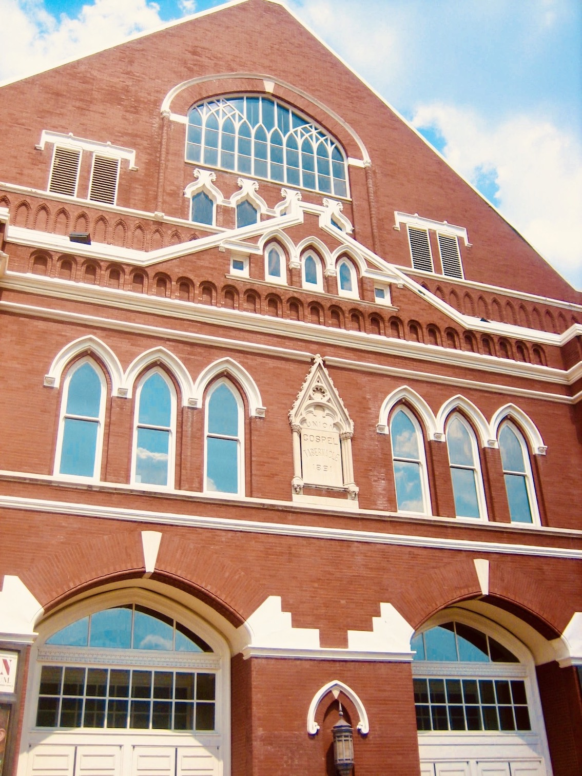 Nashville Nostalgia Ryman Auditorium