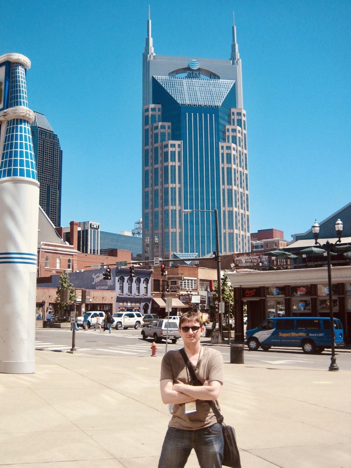 Nashville Nostalgia The Batman Building