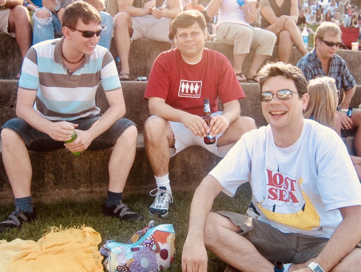 Nashville Nostalgia live music at Riverfront Park