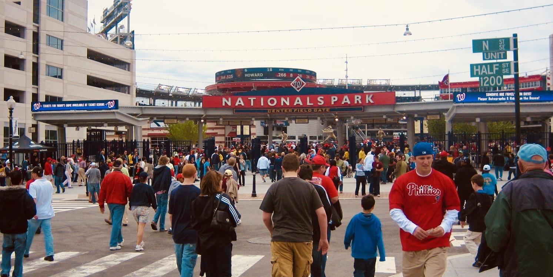 Nationals Park Stadium Washington DC
