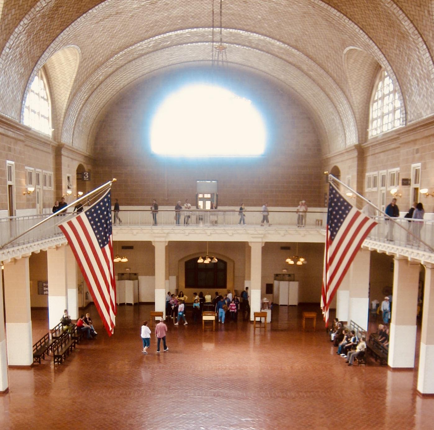 New York City Nostalgia Ellis Island Immigration Museum
