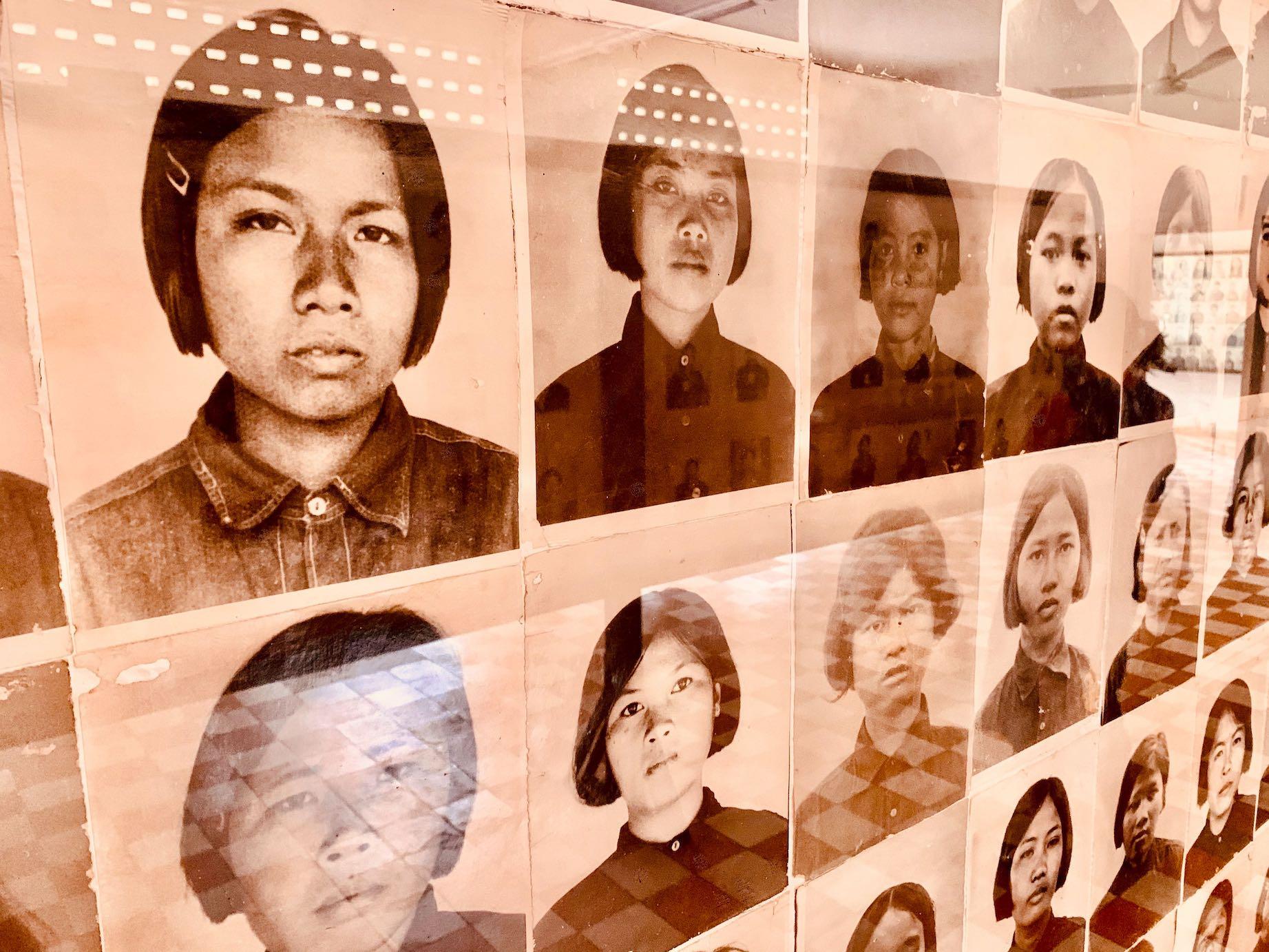 Photo gallery S-21 Prison and torture centre Cambodia