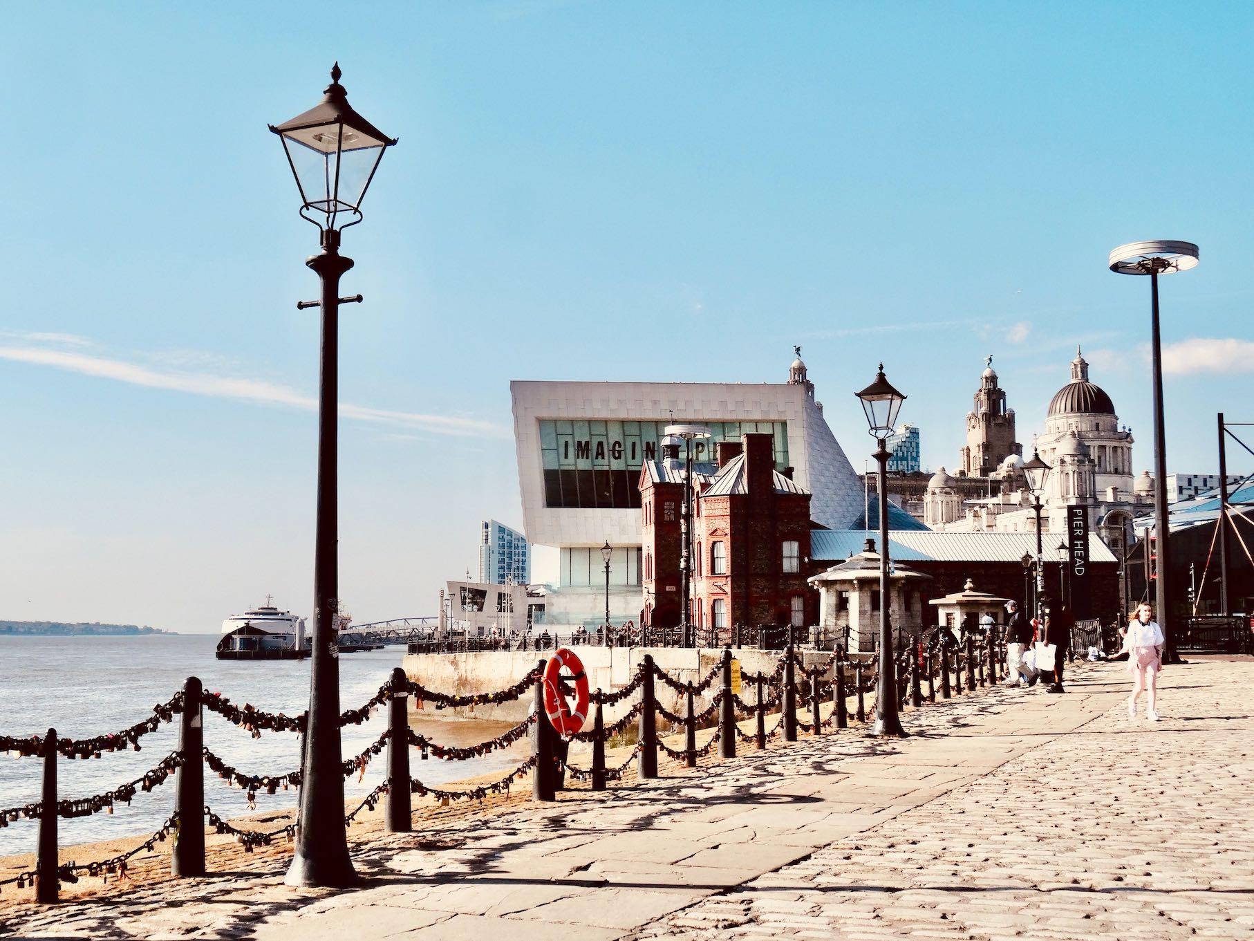 Pier Head Liverpool.