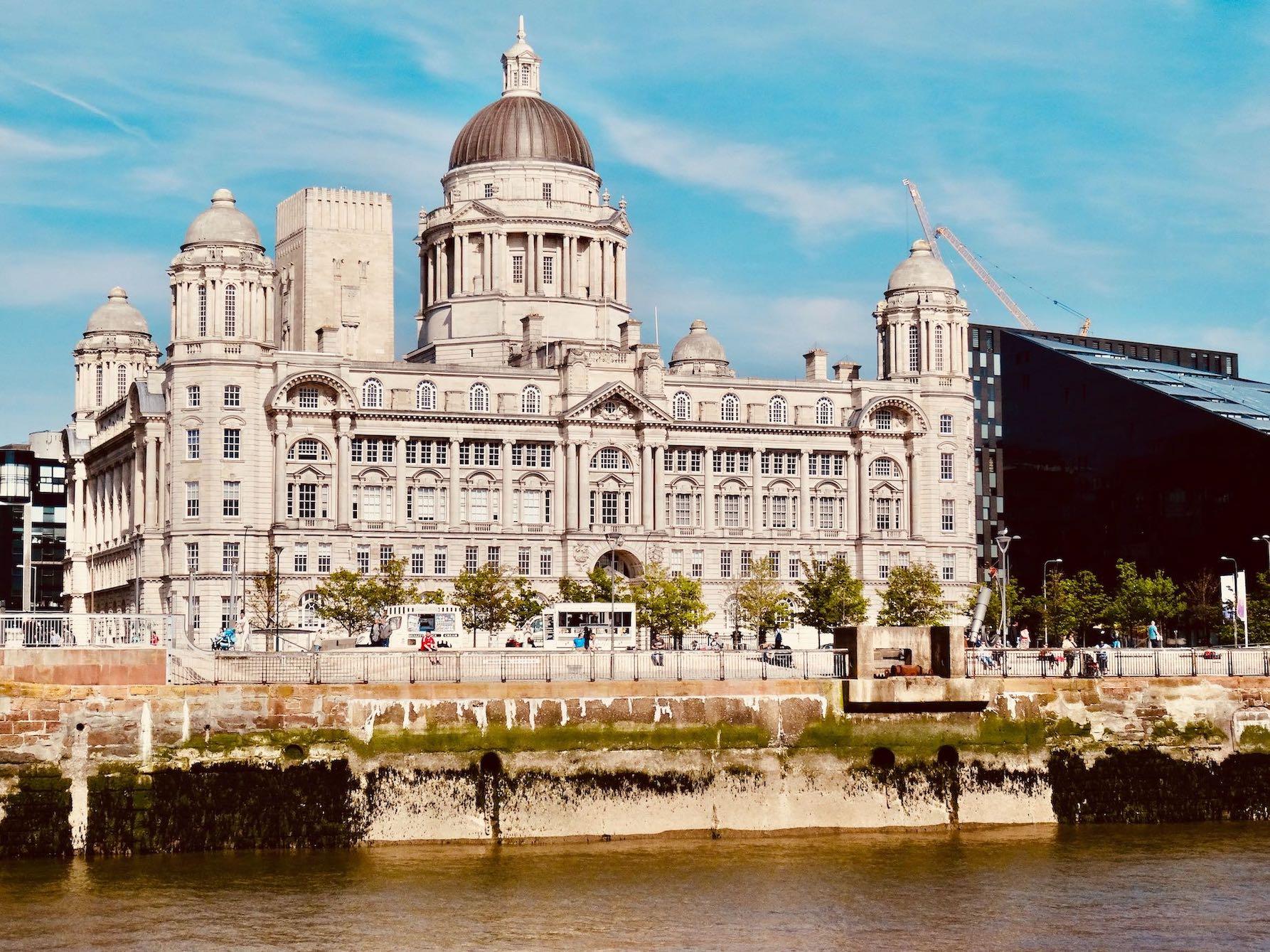 Port of Liverpool Building.