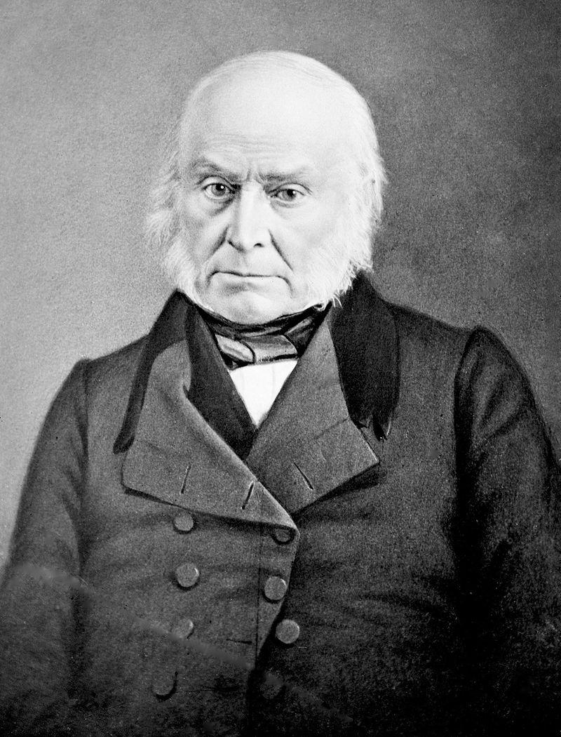 President John Quincy Adams.