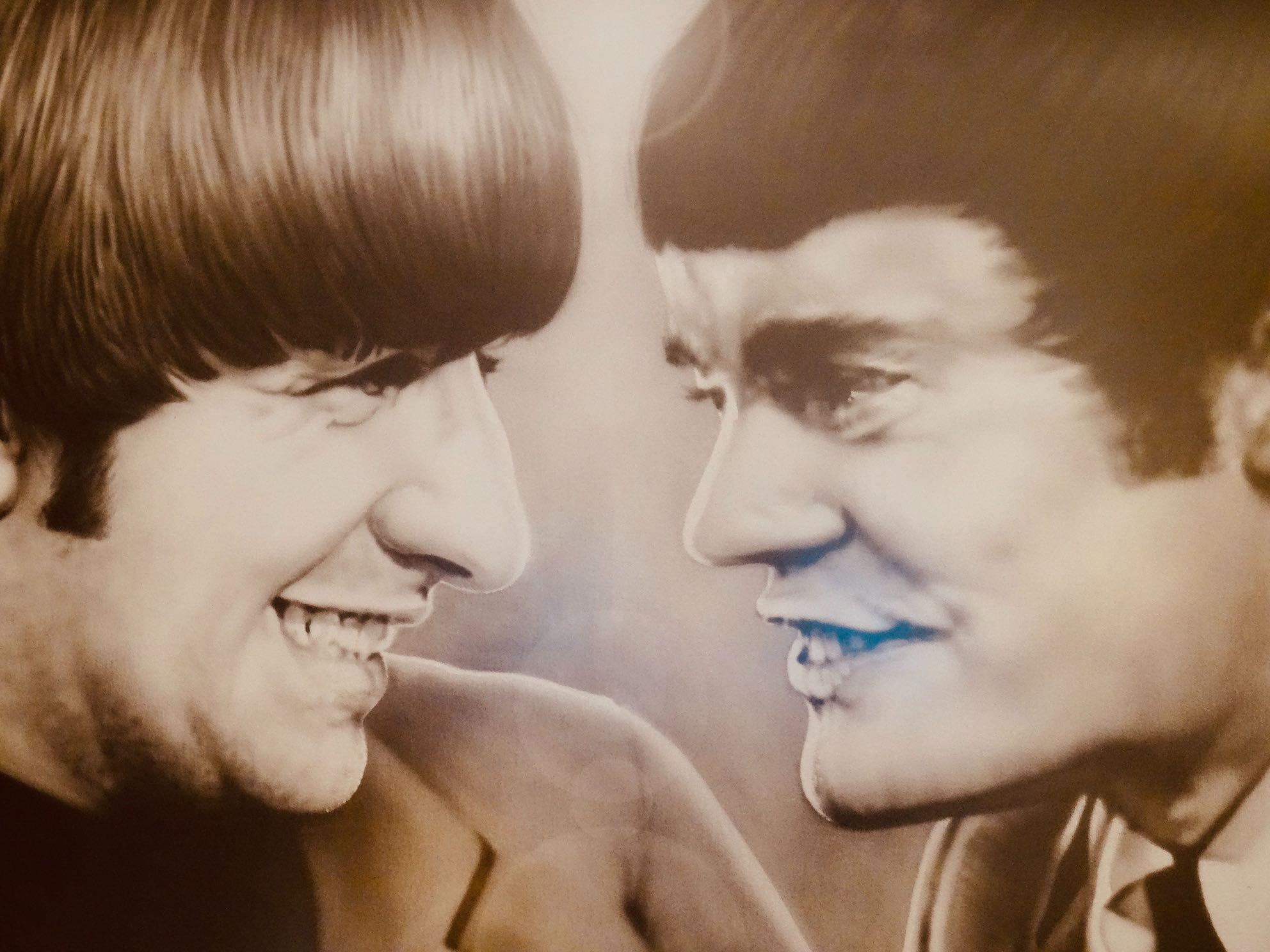 Ringo Starr and Jimmy Nicol.