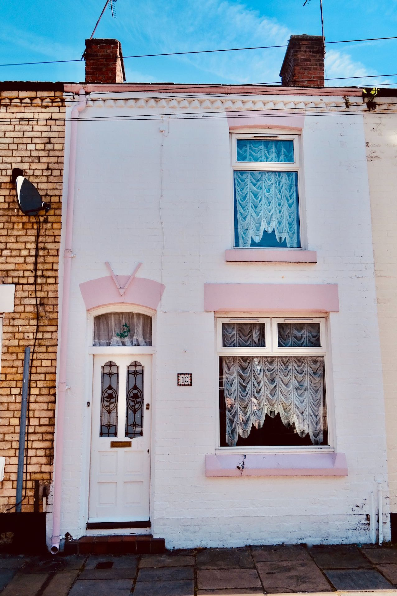 Ringo Starr's childhood home Admiral Grove Liverpool