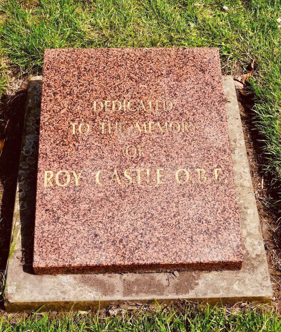 Roy Castle Memorial in Liverpool.