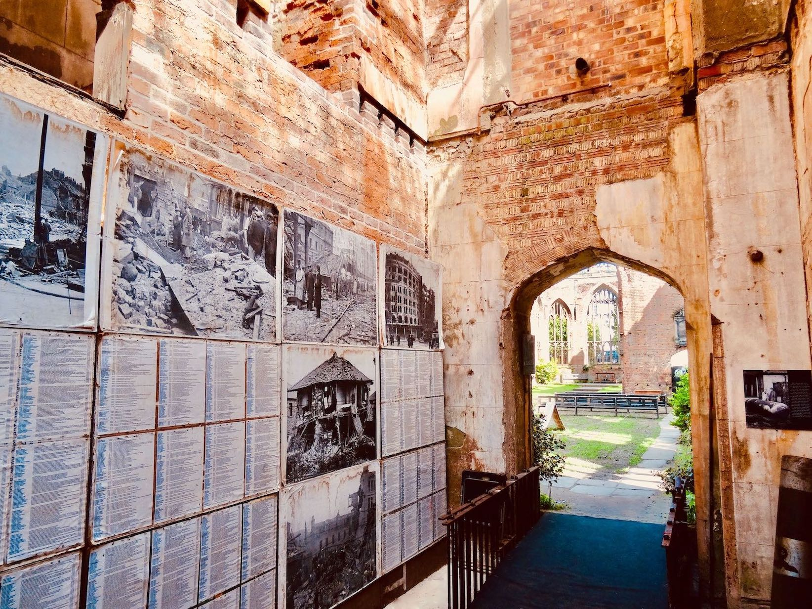 Second World War Exhibition St Luke's Bombed Out Church