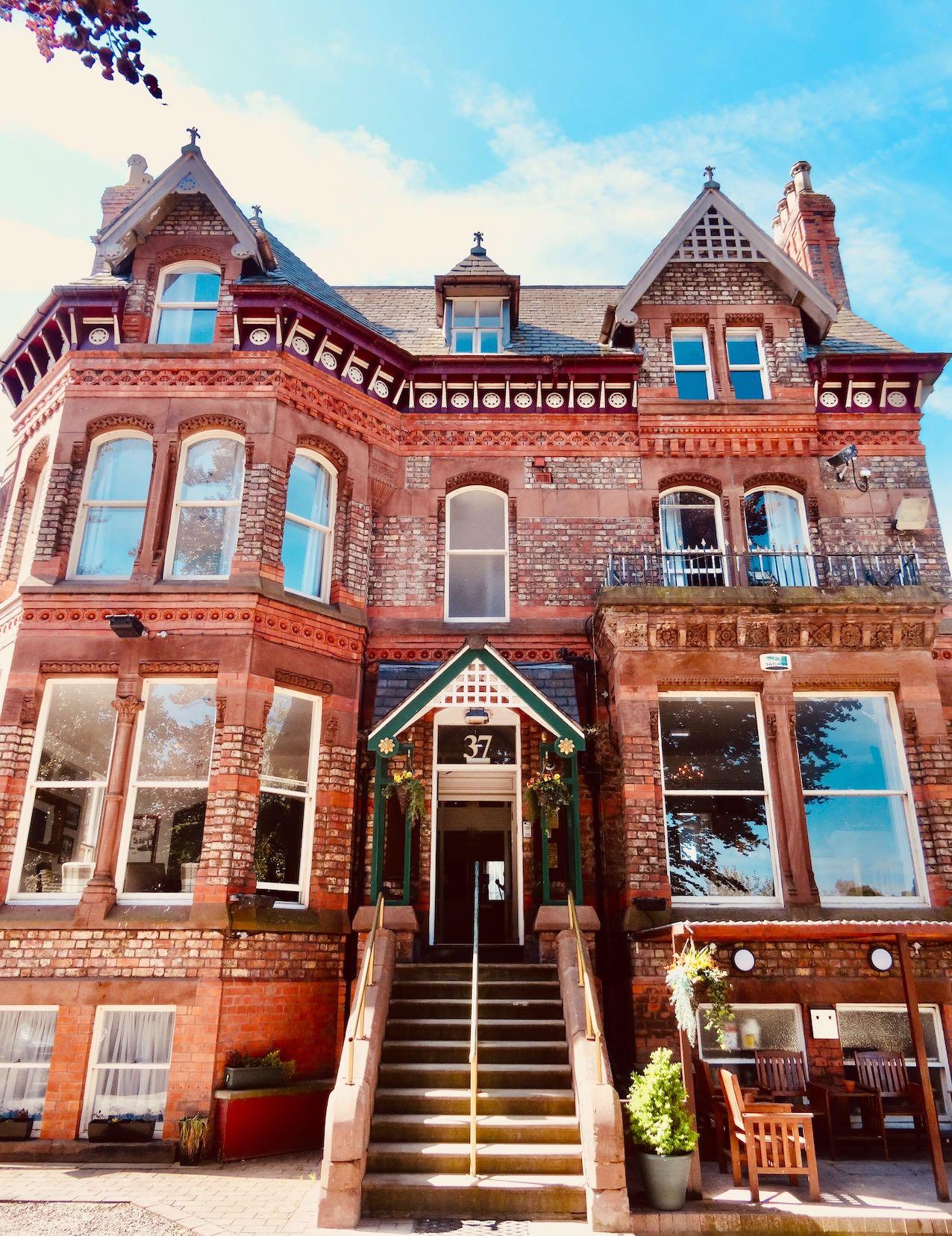 Sefton Park Hotel in Liverpool.