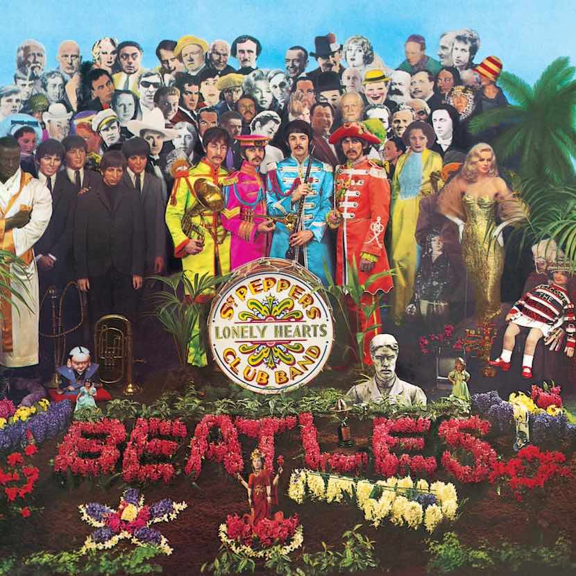 Sgt. Pepper's Lonely Hearts Club Band front cover