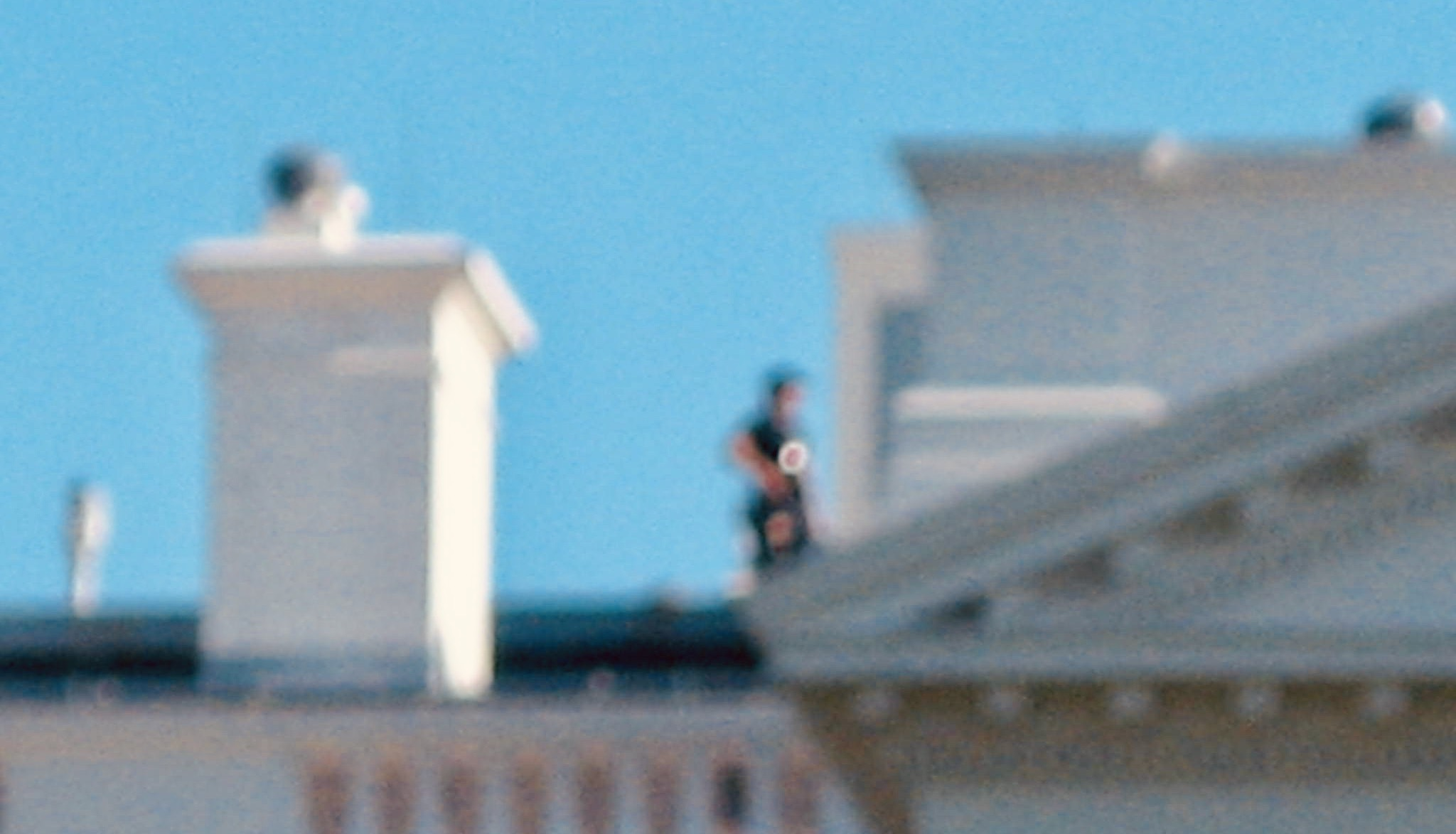 Sniper on The White House roof.