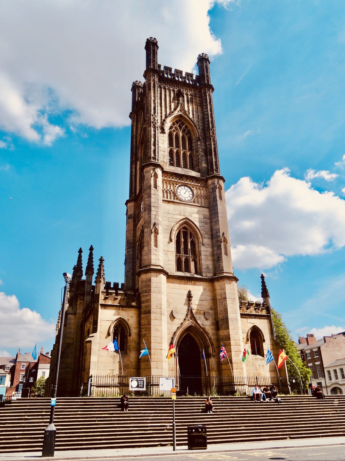 St Luke's Bombed Out Church in Liverpool