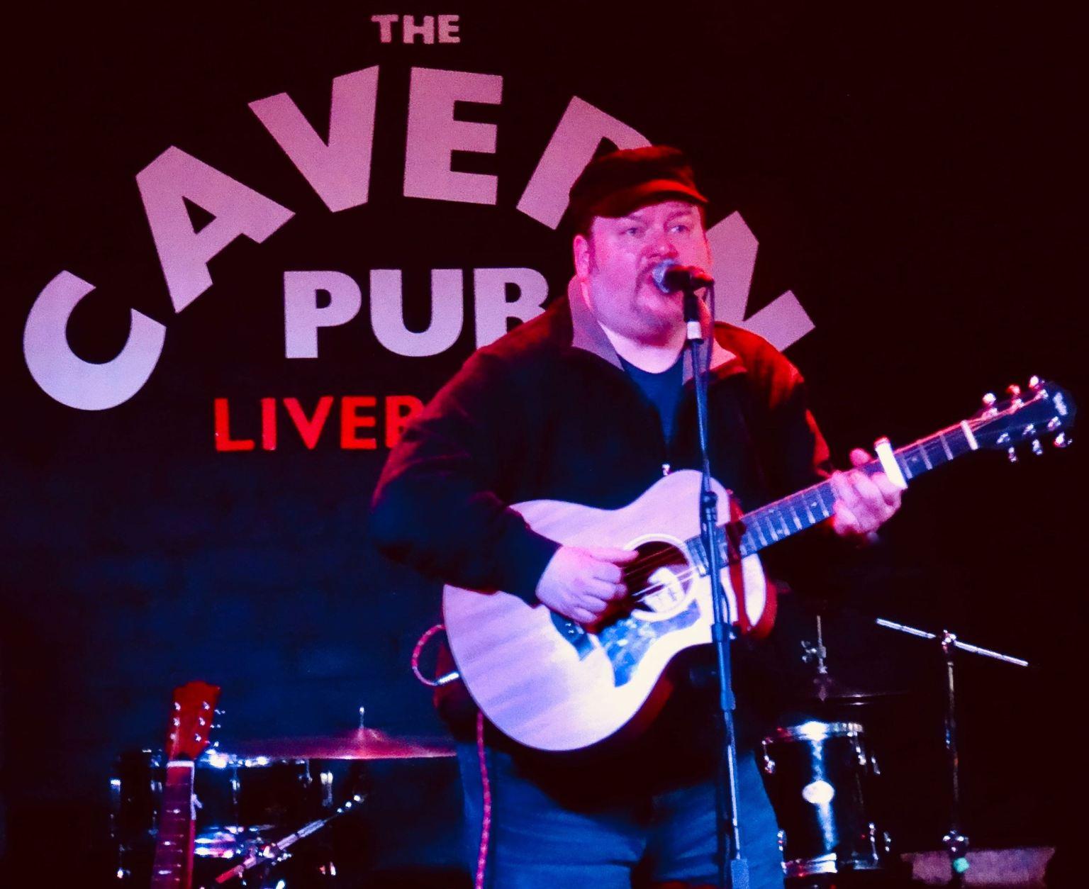 Stuart Todd Shadow Captain singer songwriter Liverpool