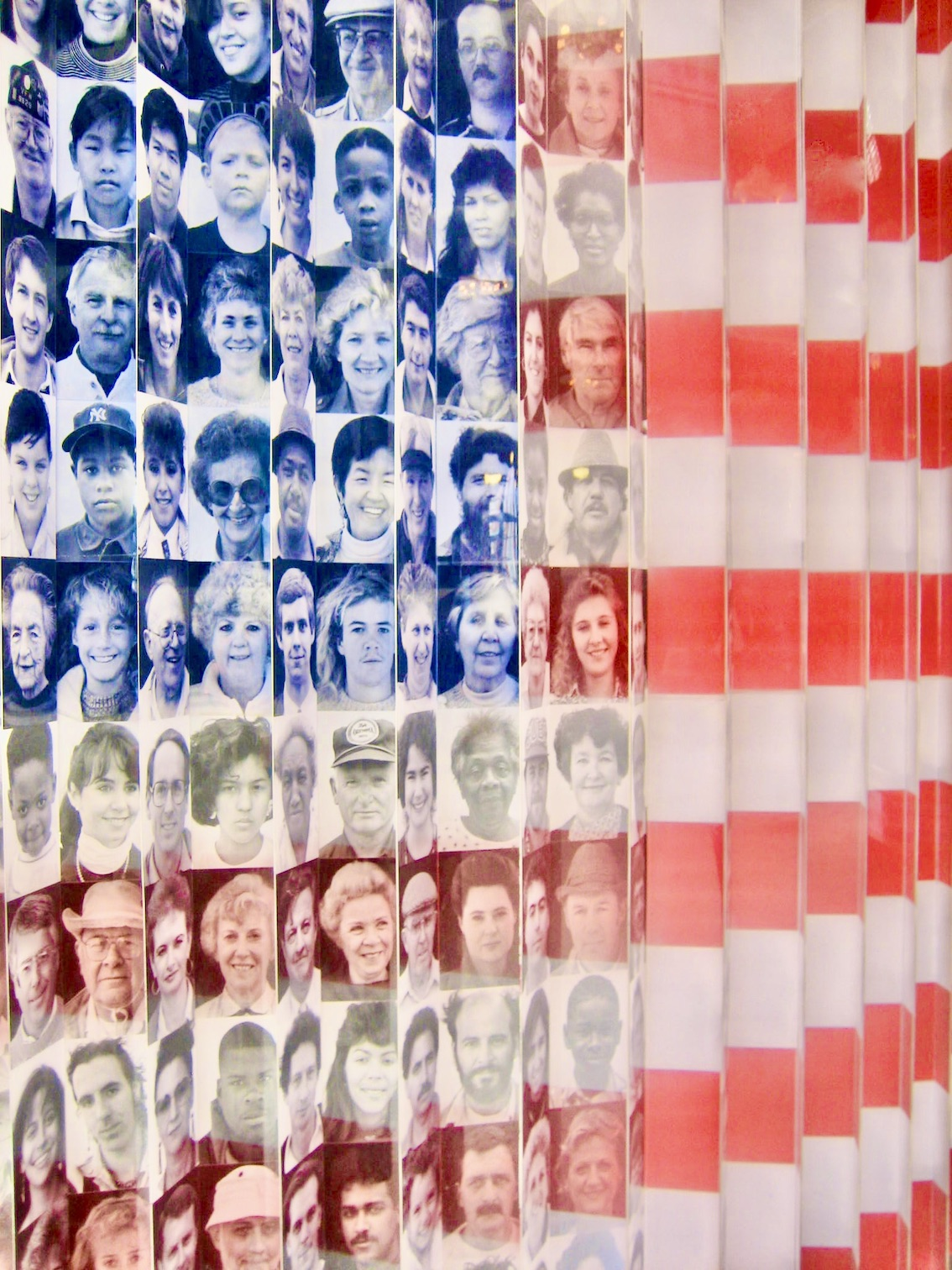 The American Flag of Faces A Portrait of America