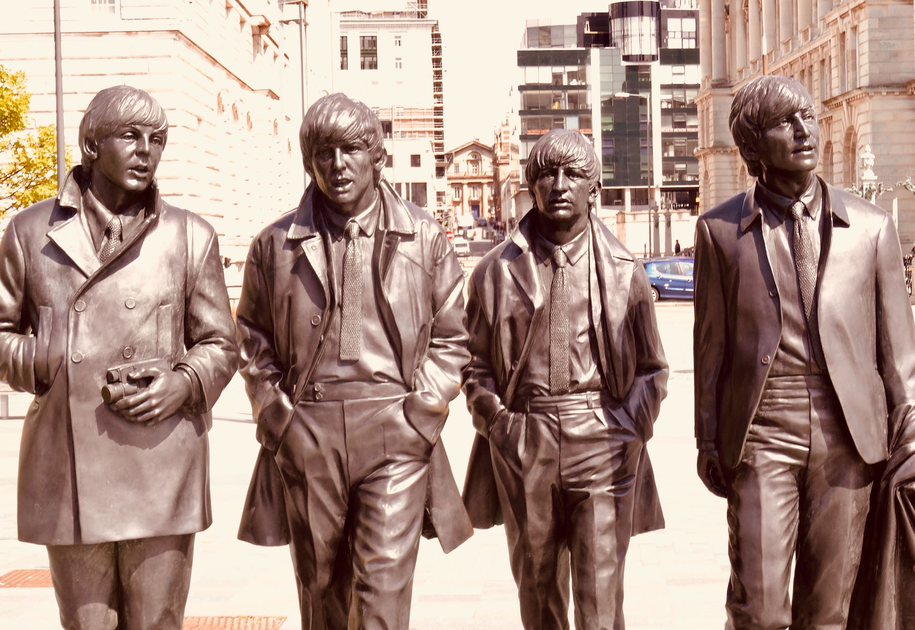 he Beatles Statue The Liverpool Waterfront