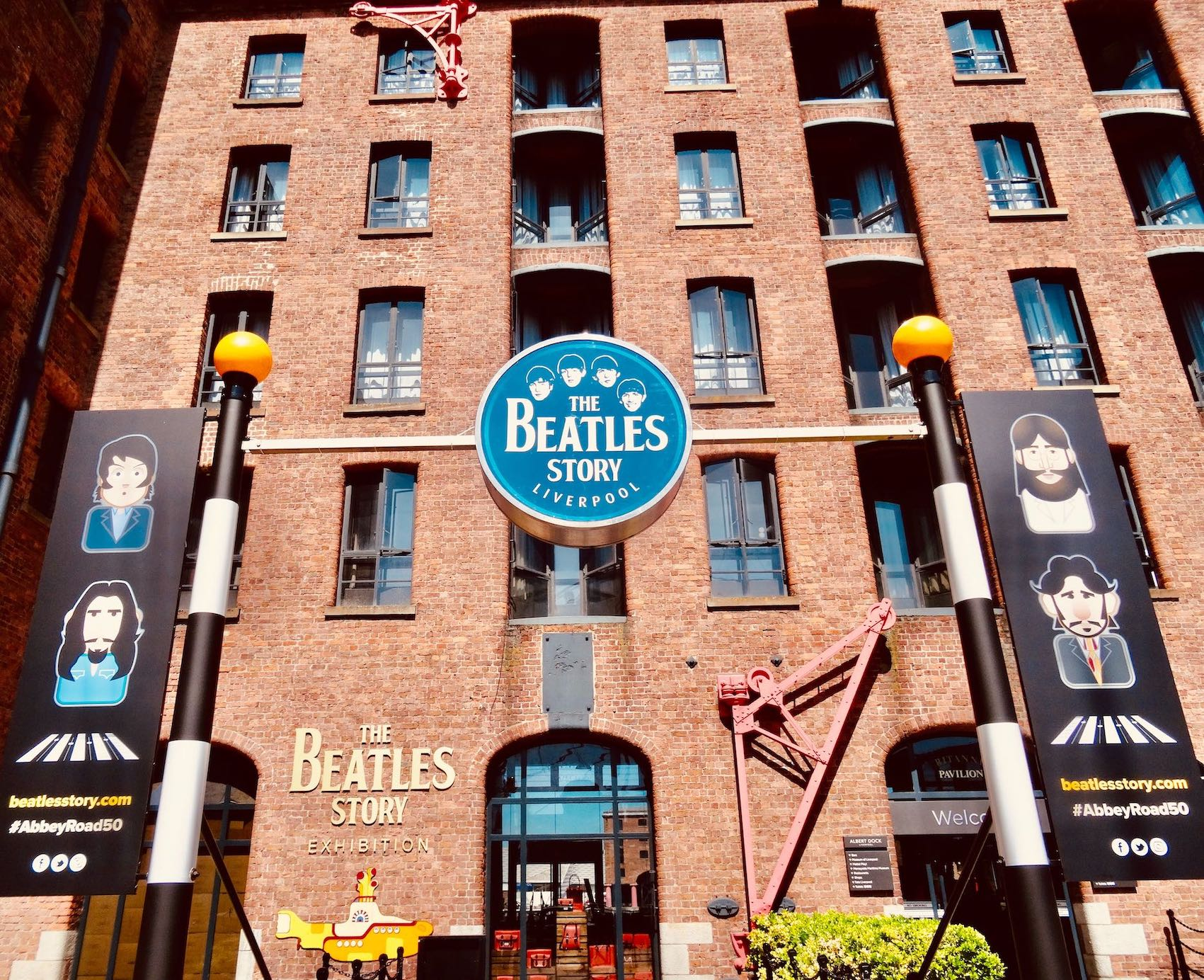 The Beatles Story in Liverpool.