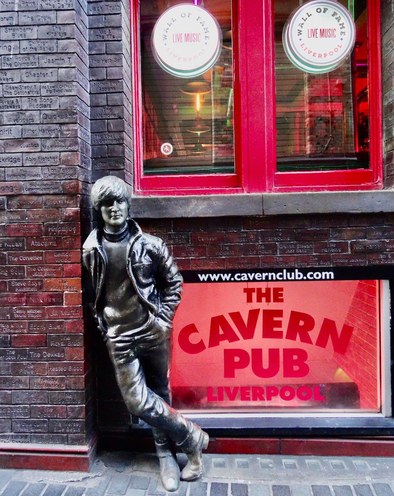 The Cavern Pub in Liverpool.
