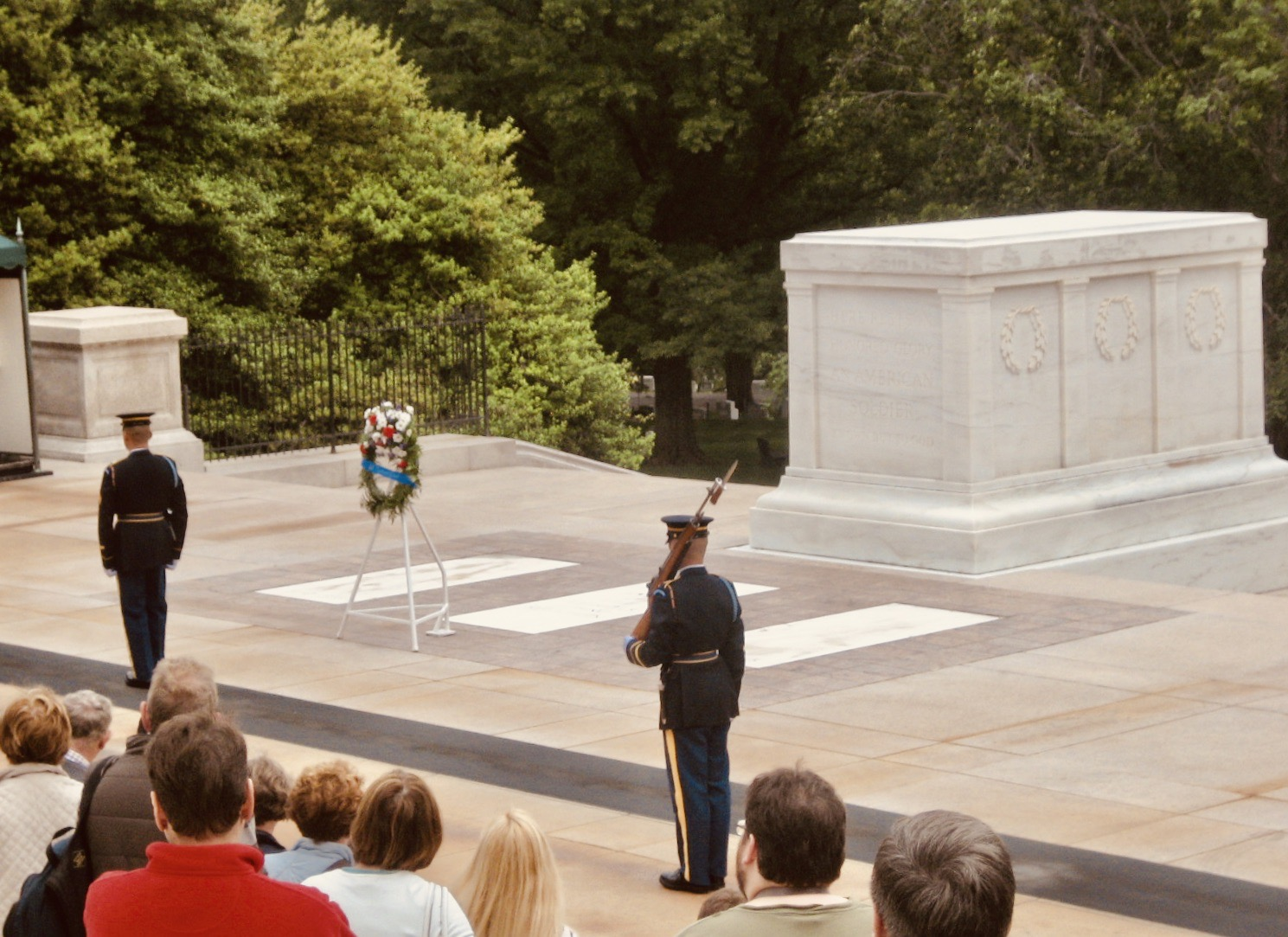 The Changing of the Guard at Arlington Cemetery