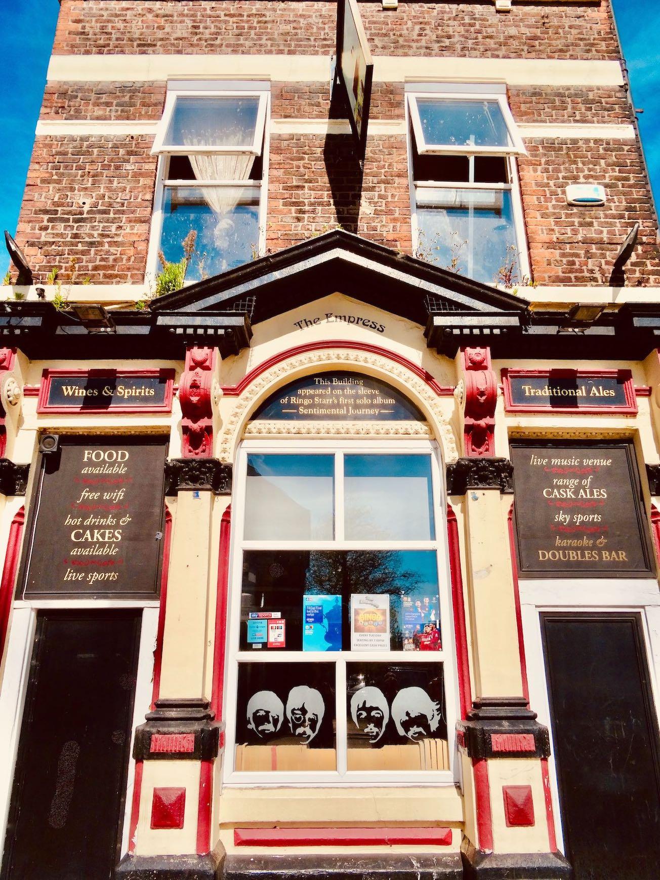 The Empress Pub Liverpool.