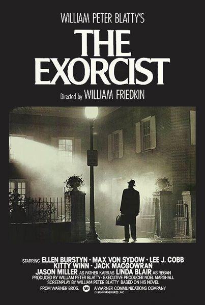 The Exorcist film poster.