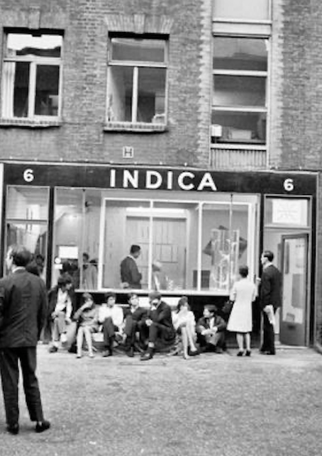 The Indica Gallery in London.
