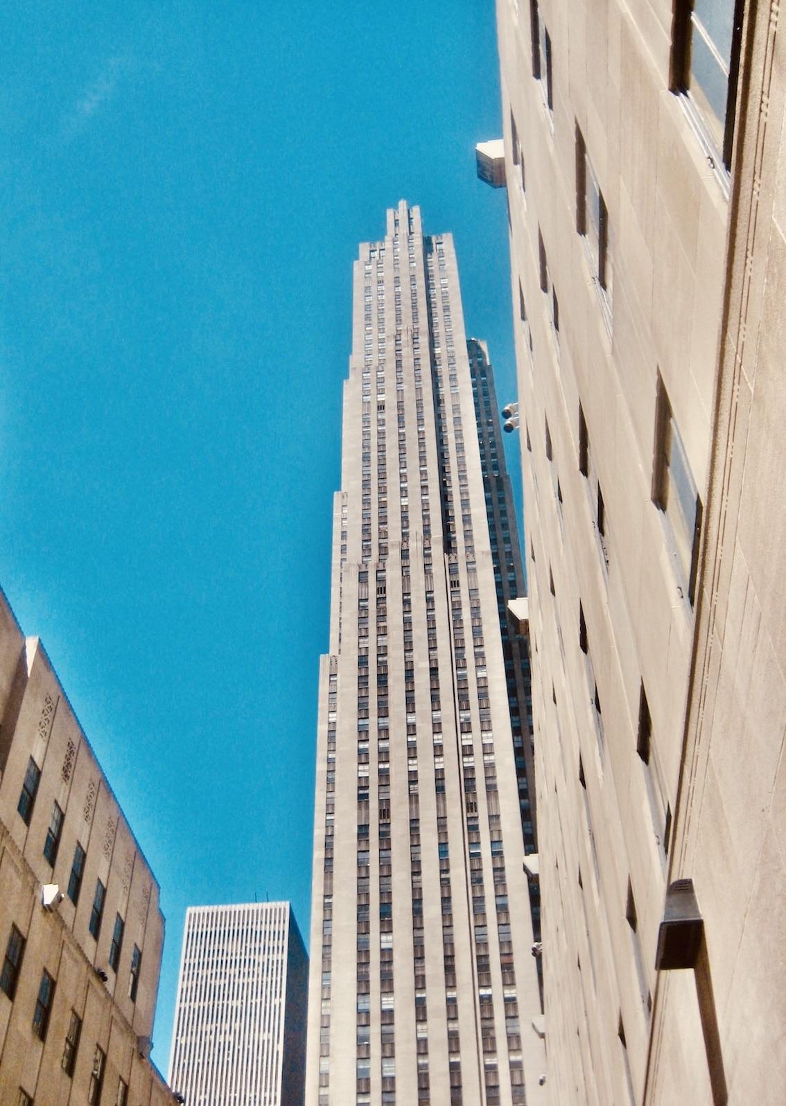 The Rockefeller Center NYC.