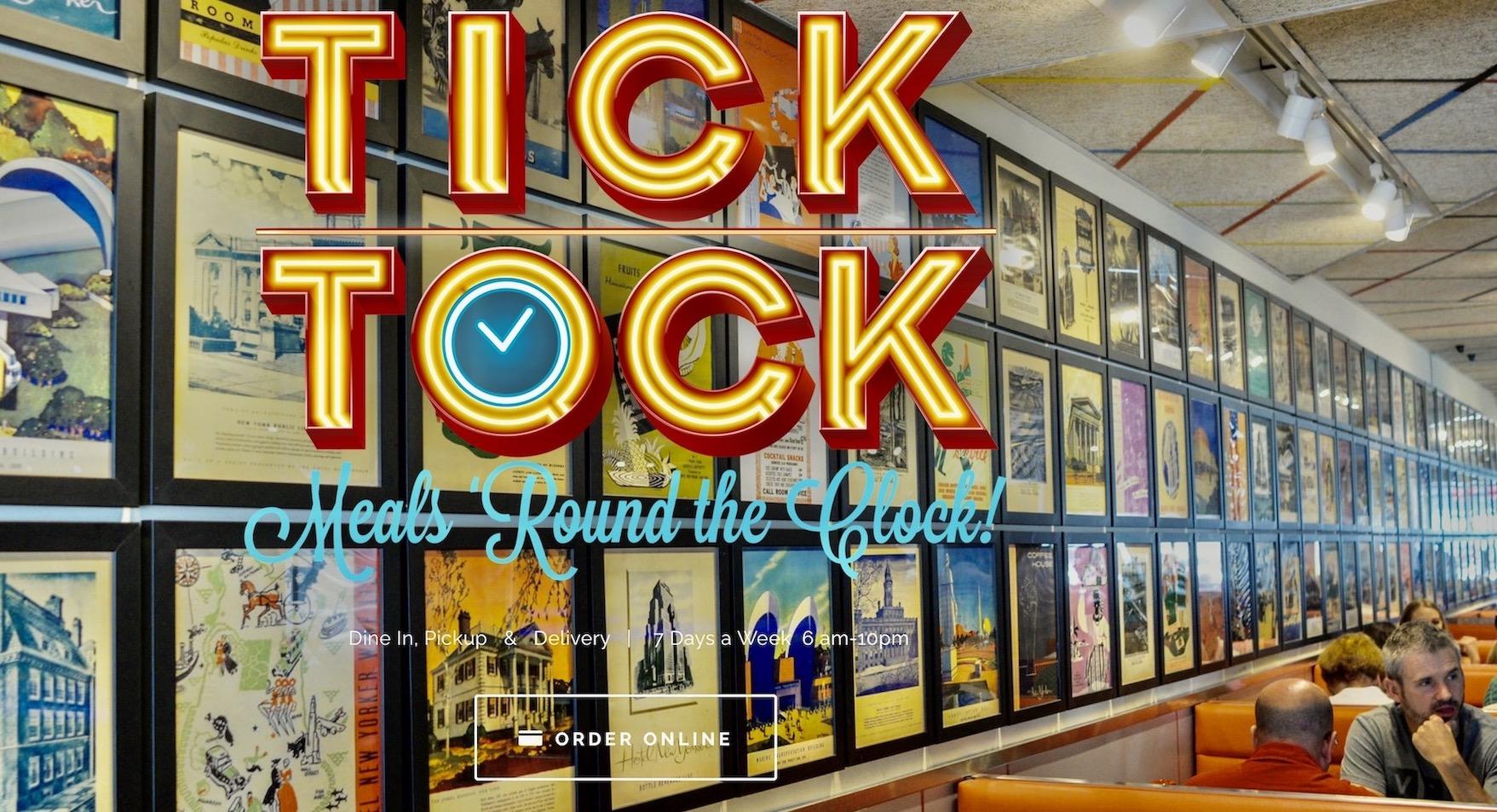 The Tick Tock diner New York City Nostalgia
