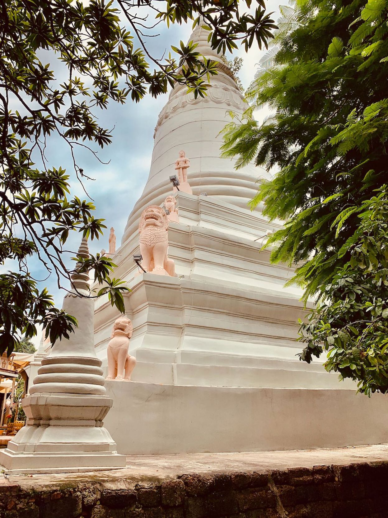 The main stupa at Wat Phnom Cambodia