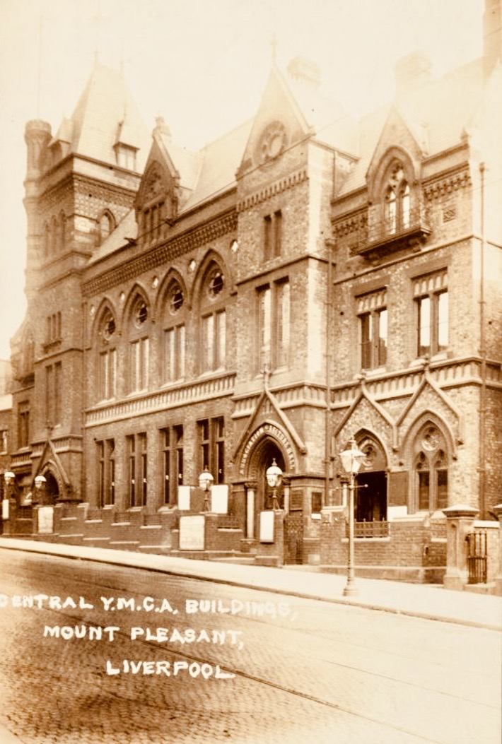 The old YMCA Building Mount Pleasant Liverpool