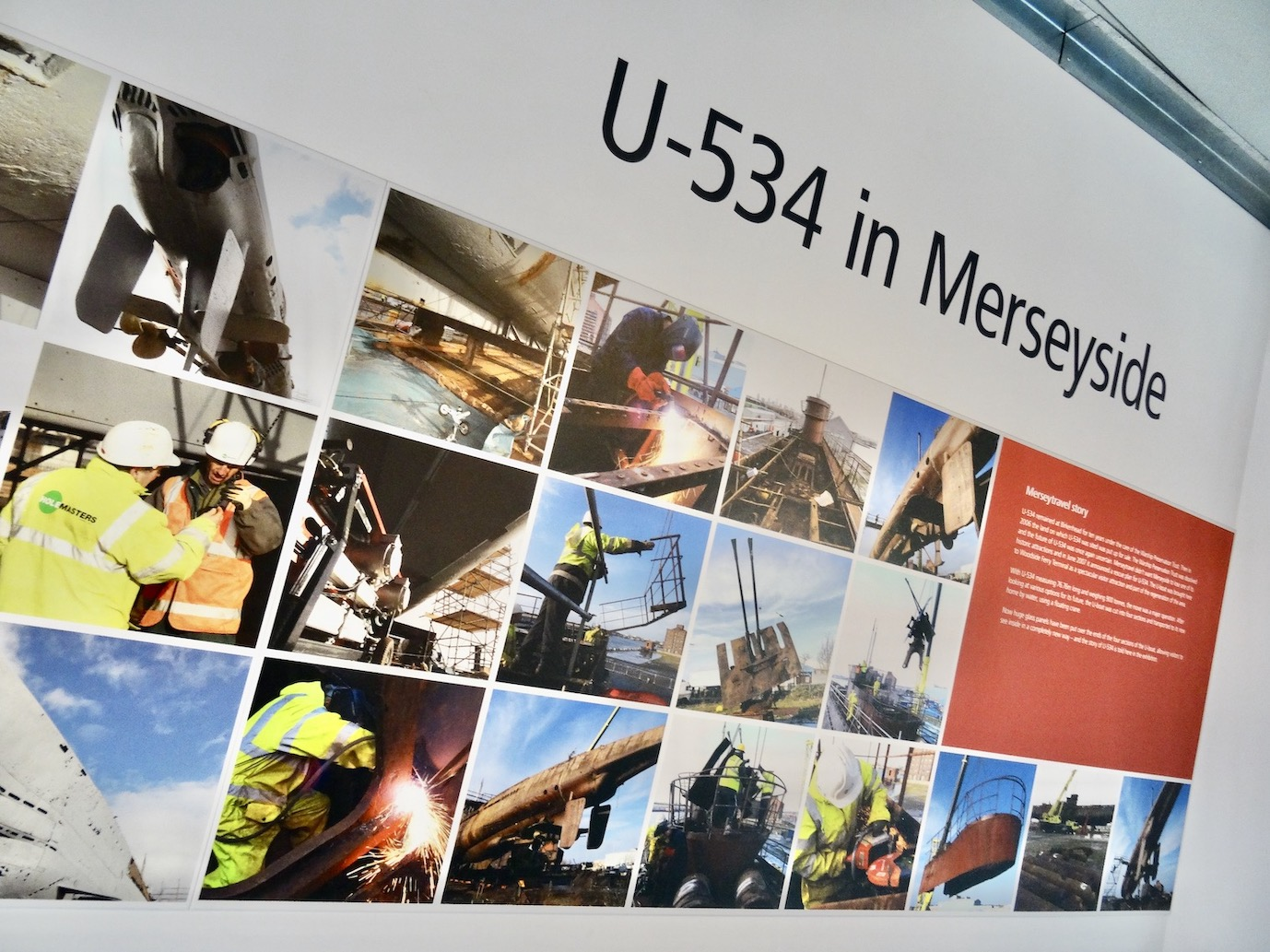U-534 in Merseyside.