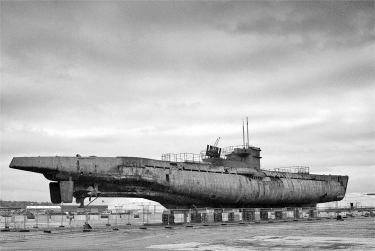 U534 Submarine Ferry Cross the Mersey