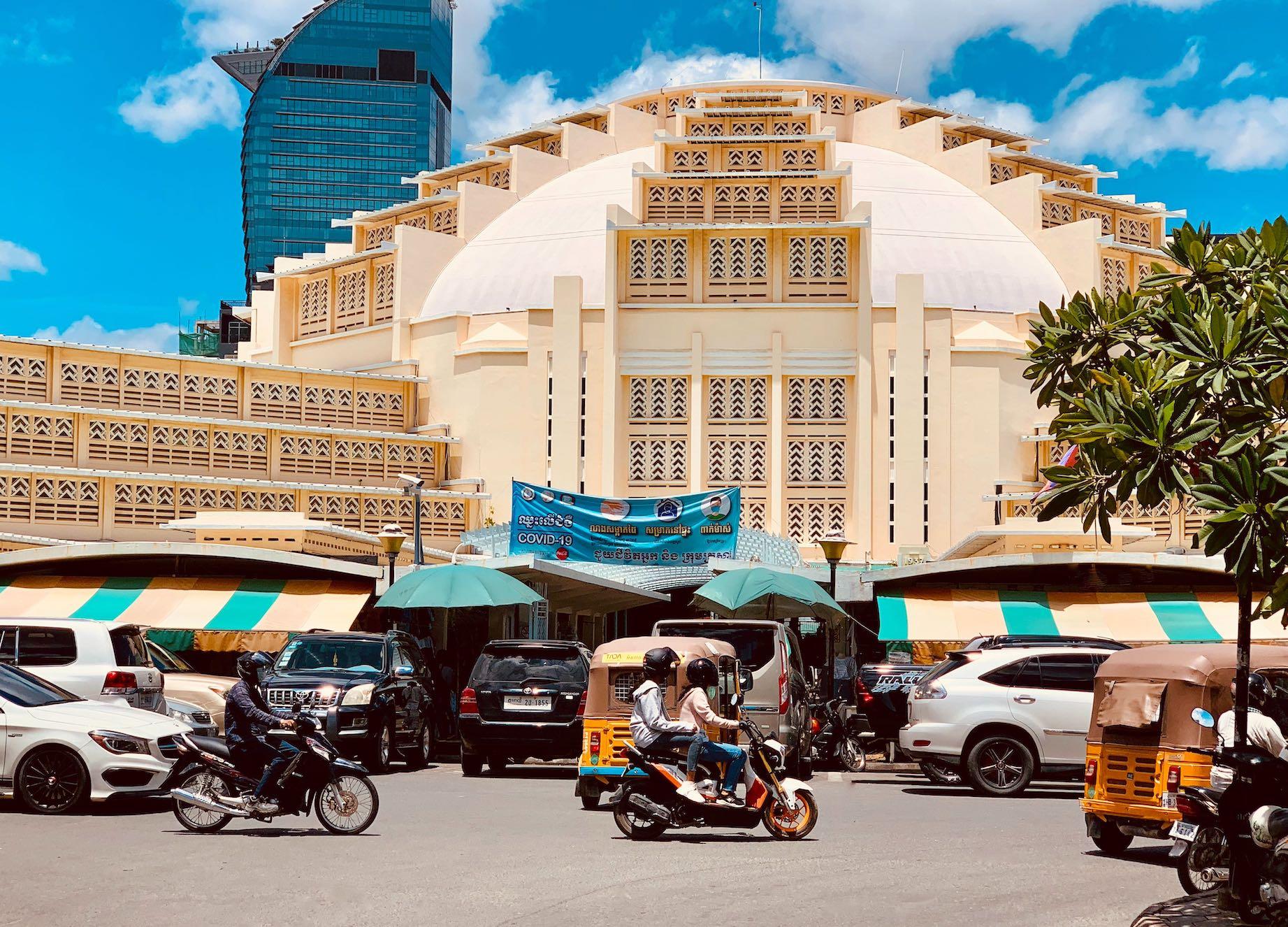Visit Central Market Phnom Penh.