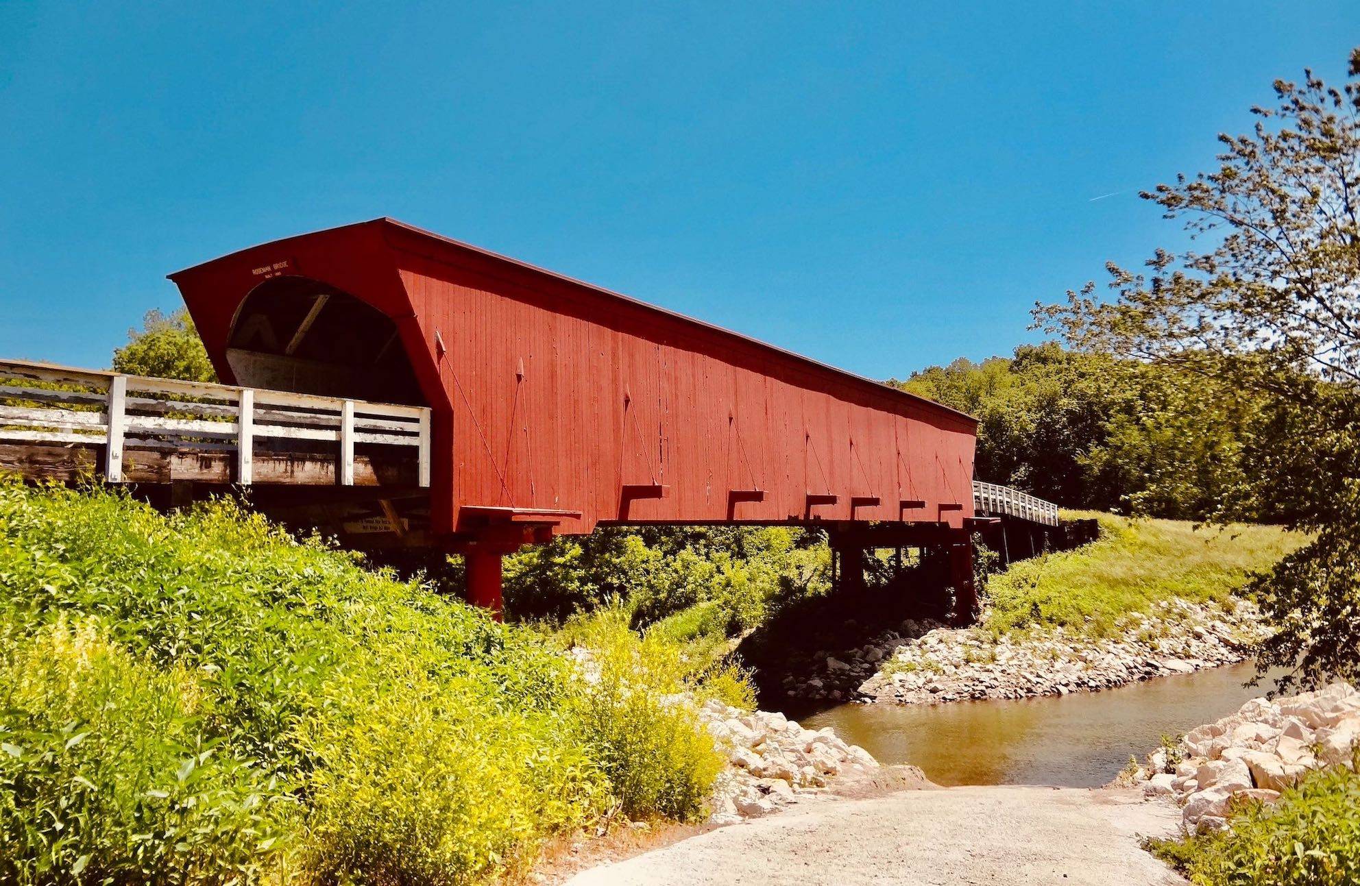 Visit The USA Roseman Bridge Iowa