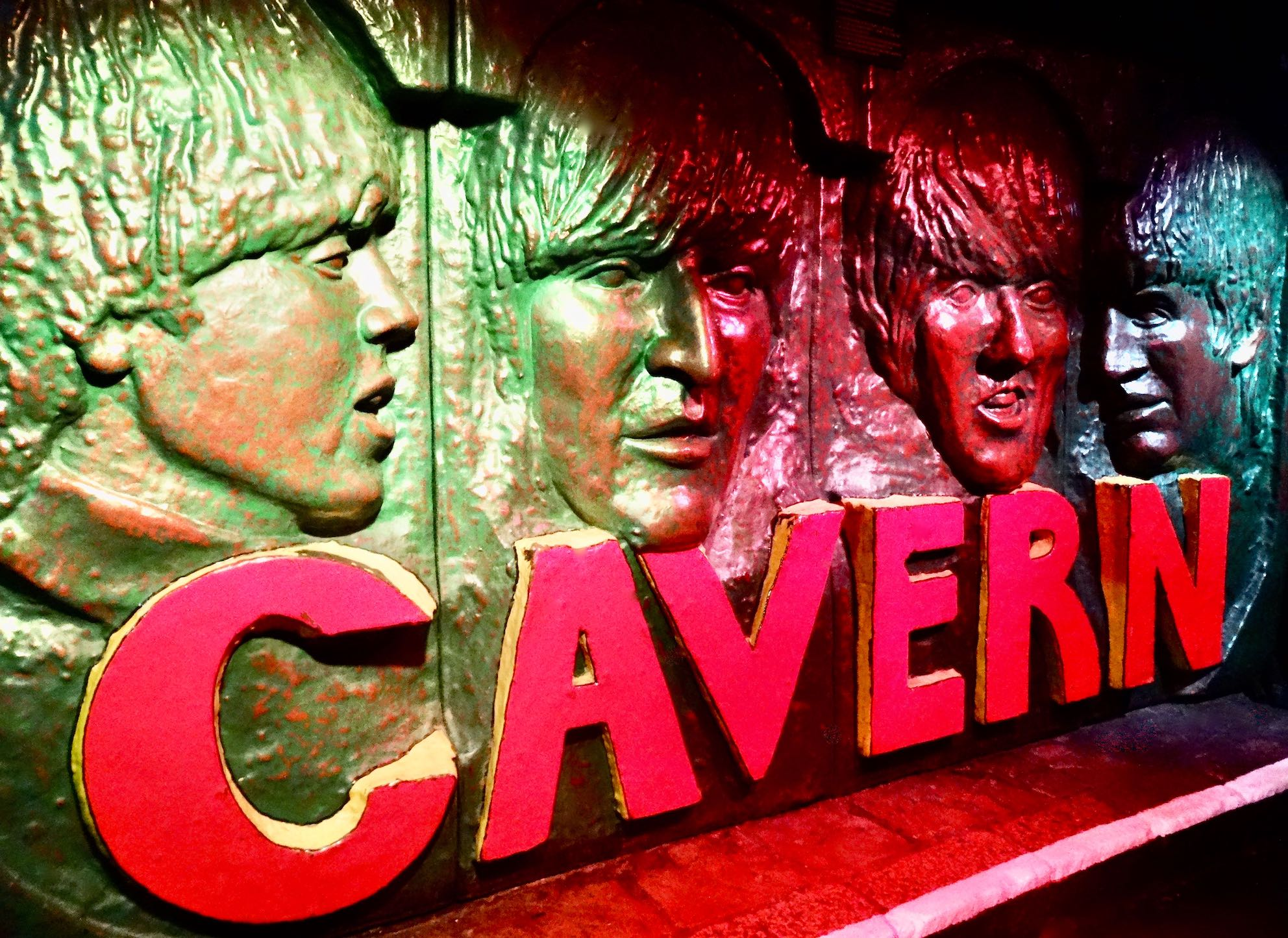 Visiting the Cavern Club in Liverpool