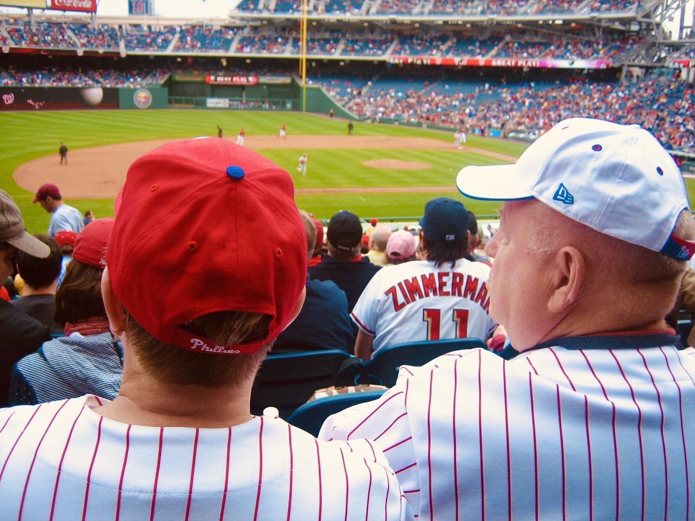 Washington DC Nostalgia Baseball at Nationals Park