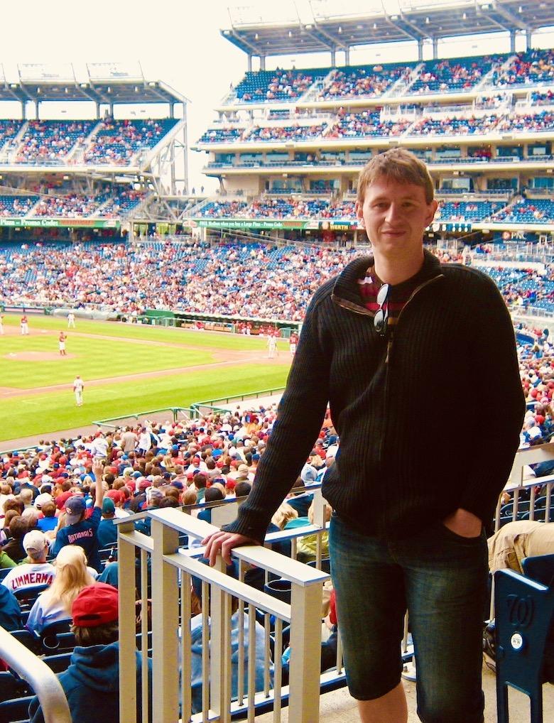Washington DC Nostalgia Nationals Park Baseball Stadium