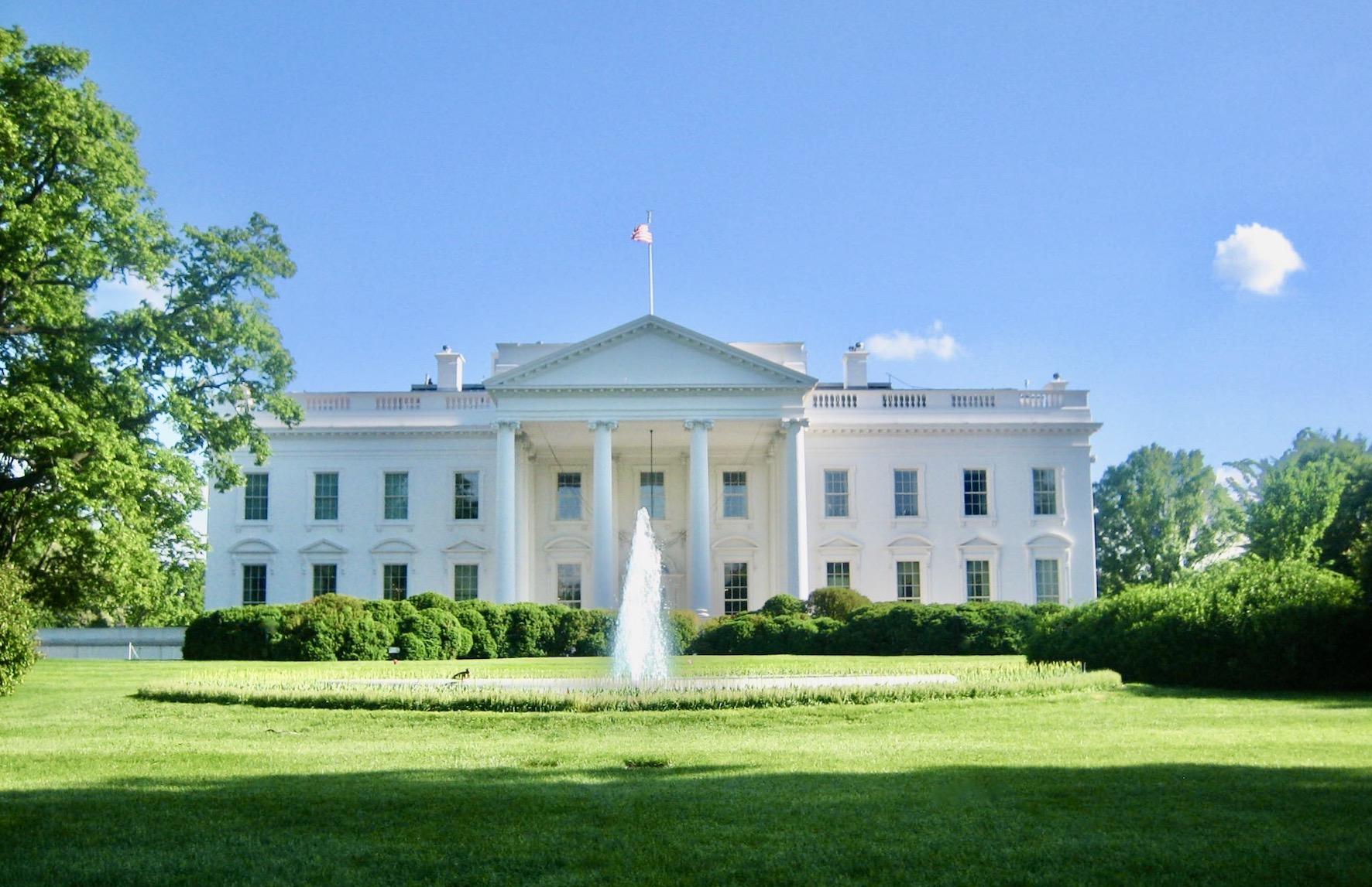 Washington DC Nostalgia The White House May 2007