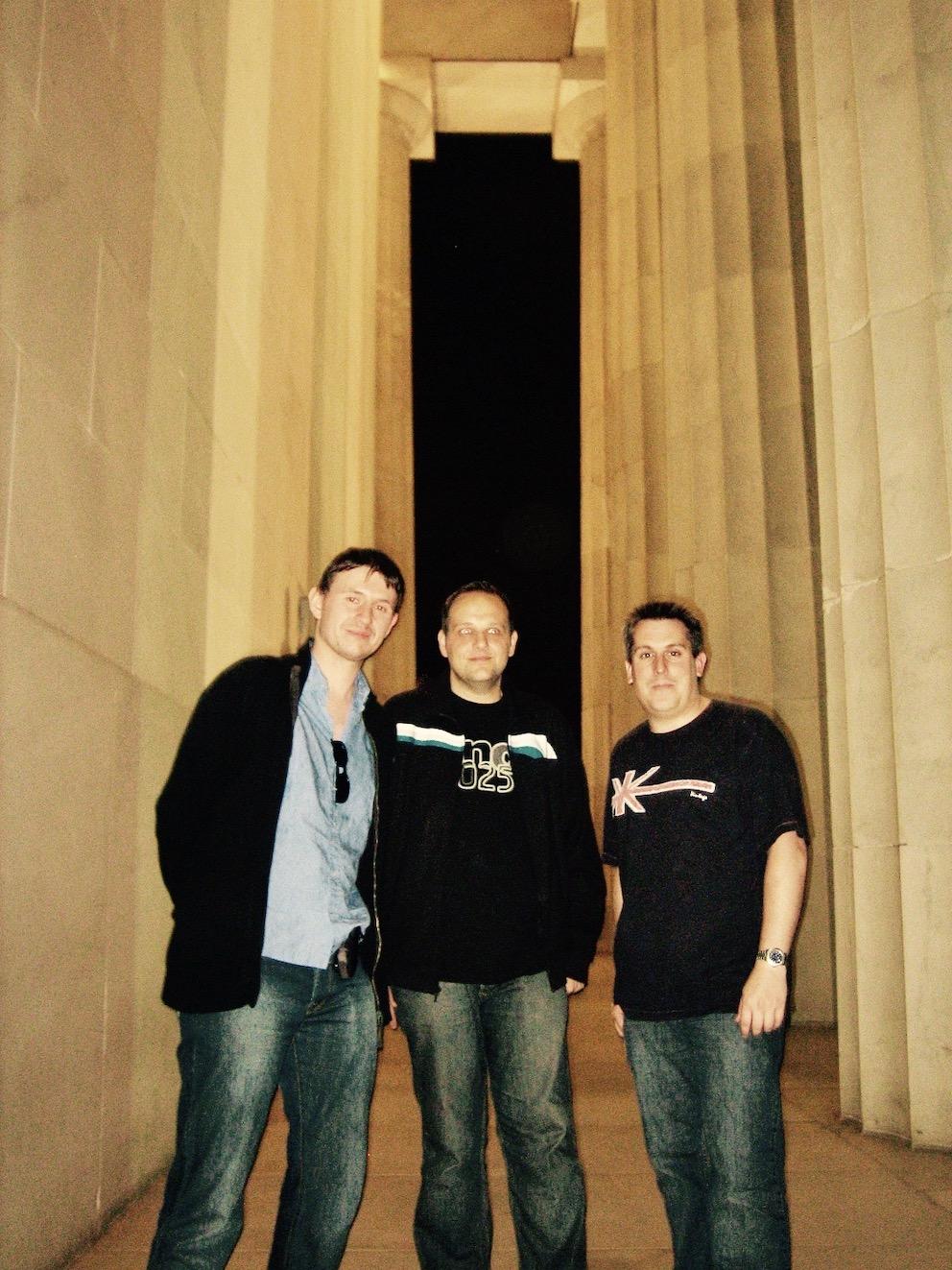 Washington DC Nostalgia visiting The Lincoln Memorial
