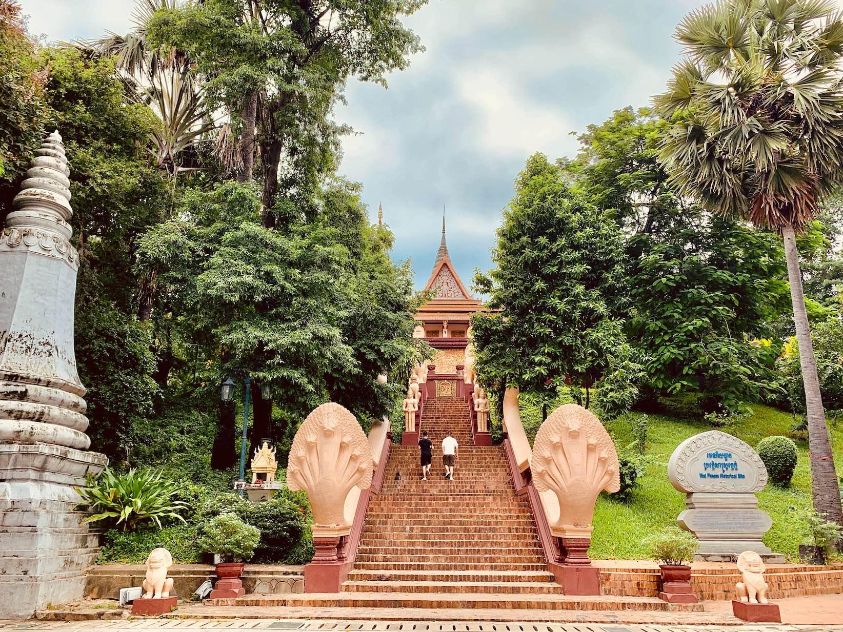 Wat Phnom Buddhist Temple Phnom Penh