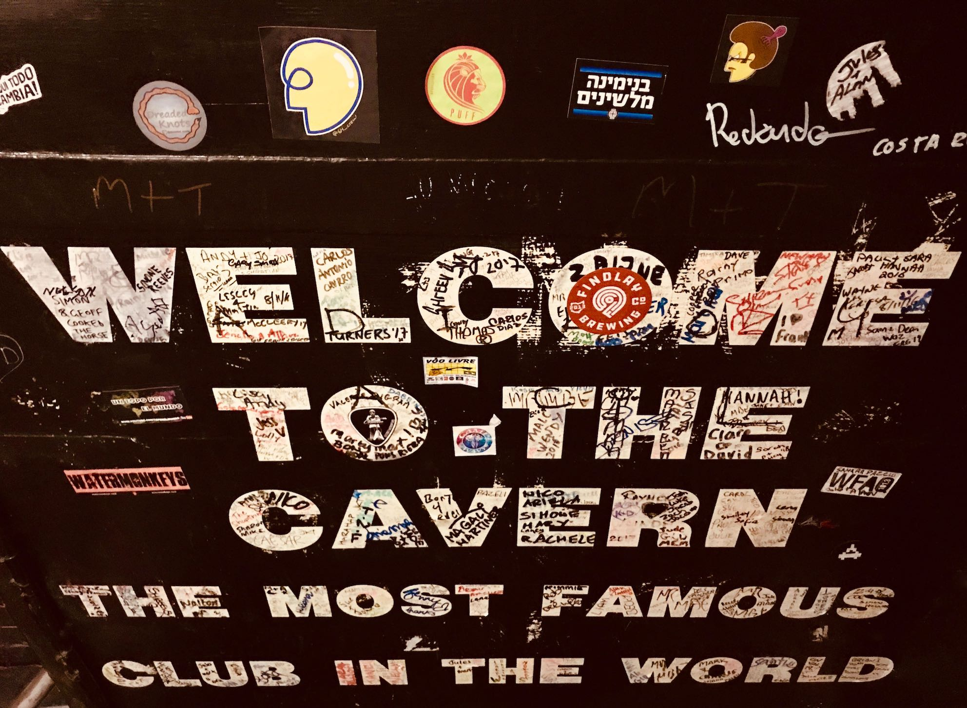 Welcome to the Cavern Club.