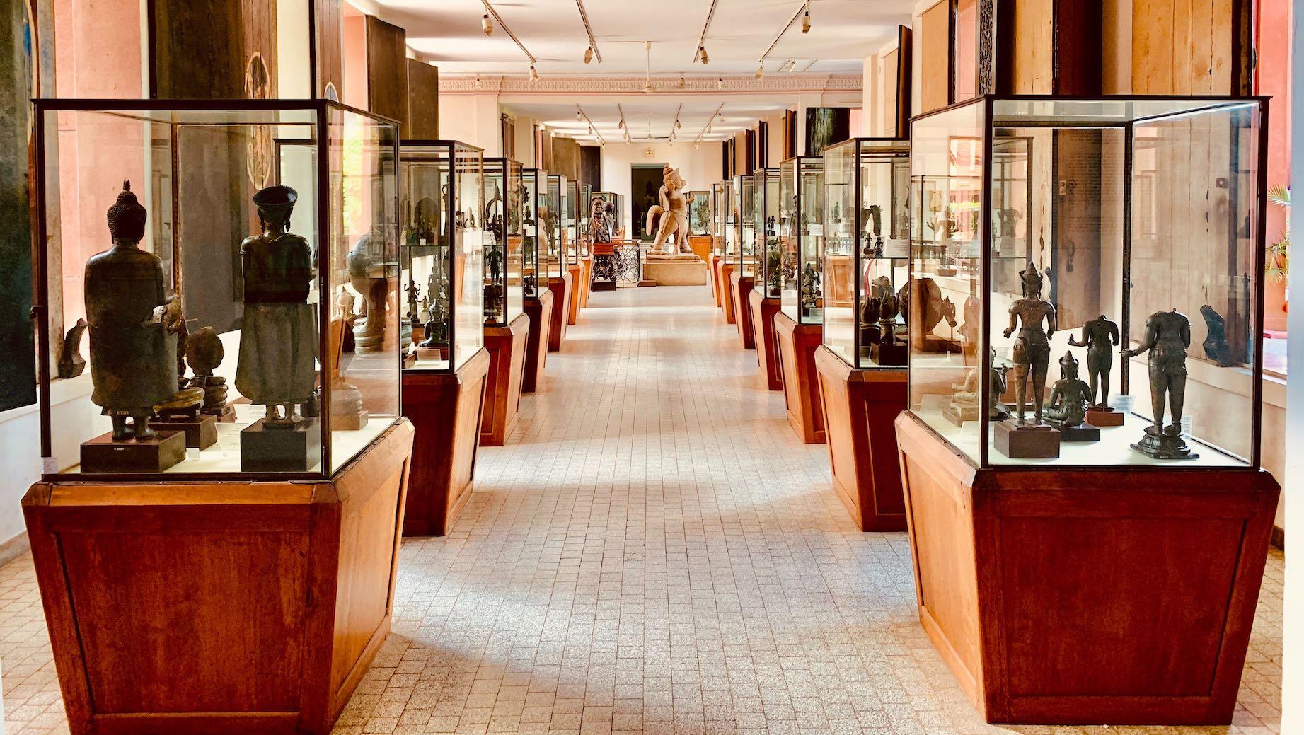 Zero tourists The National Museum of Cambodia