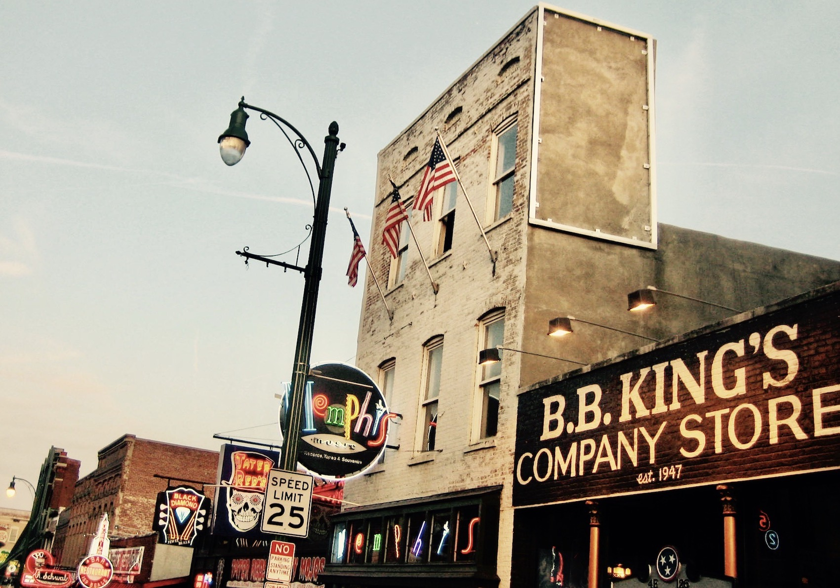 B.B. King's Company Store Beale Street Memphis