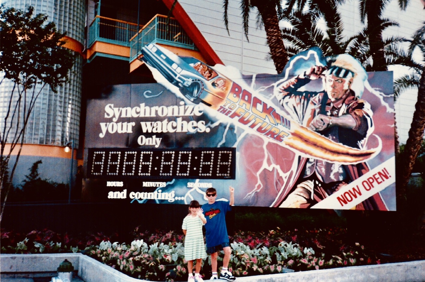 Back To The Future The Ride Universal Studios 1991