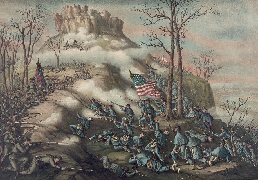 Battle of Lookout Mountain November 24th 1863