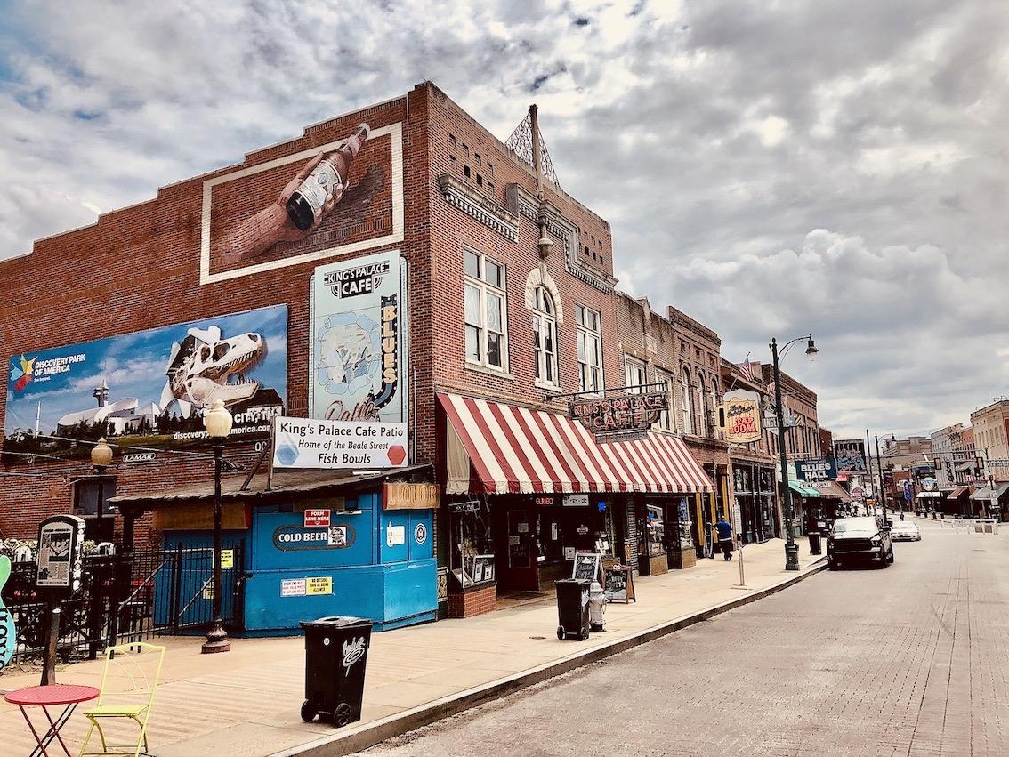 Beale Street Memphis Tennessee.