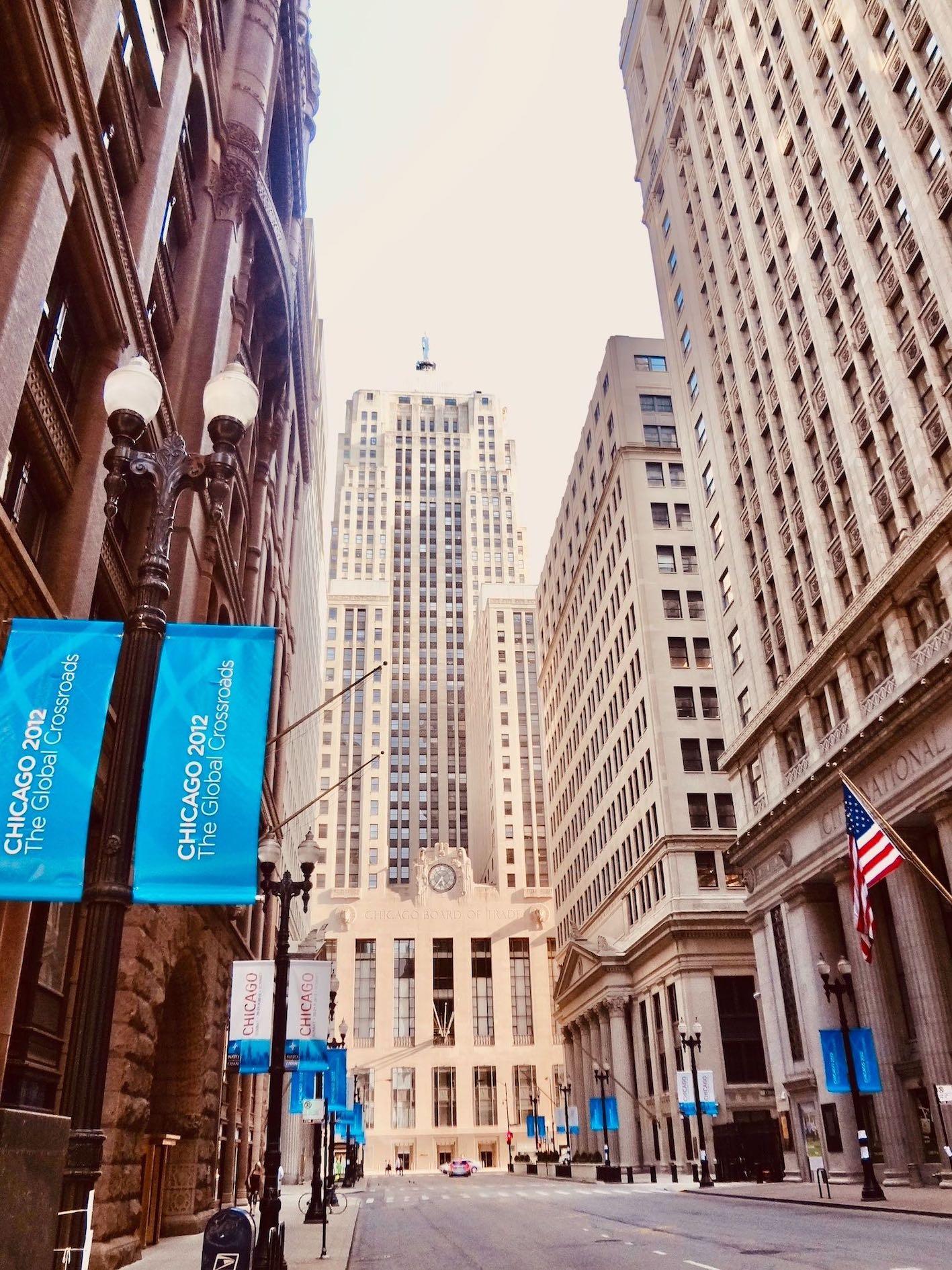 Board of Trade Chicago.